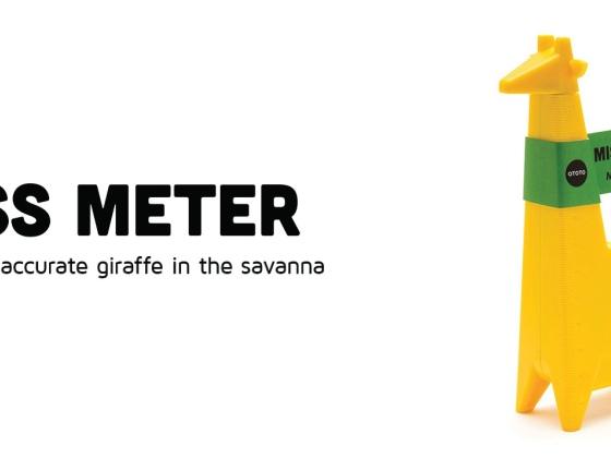 Ototo Design  长颈鹿卷尺/Miss Meter