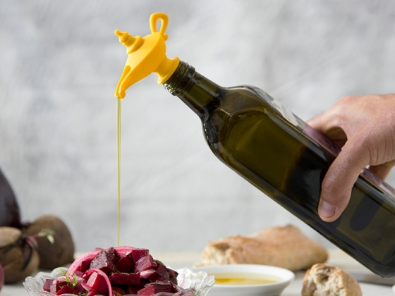 PELEG DESIGN 阿拉灯神灯淋油喷嘴瓶塞/Oiladdin