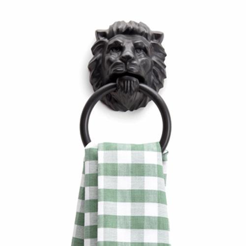 Monkey business 狮子头圆环毛巾架 / Lion's Head Towel Holder