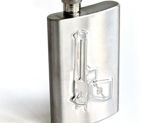 Suck UK 手枪造型酒壶/Shot Gun Hip Flask 创意小型便携酒壶