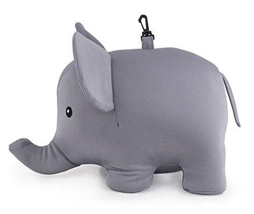 Kikkerland 大象U型枕/Zip And Flip Elephant Pillow