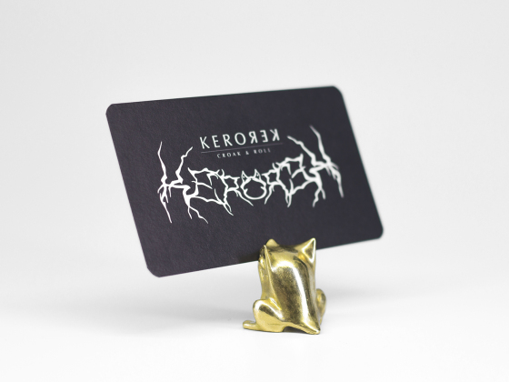 青蛙名片展示架/Gegur Card Holder
