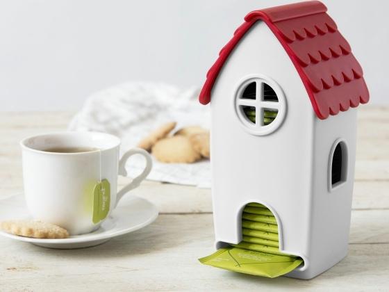 Ototo Design Tea House Tea Bag Dispenser
