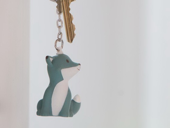 Atelier Pierre 狐狸钥匙扣/Cesar Fox Key Ring